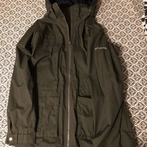 Colombia rain jacket!